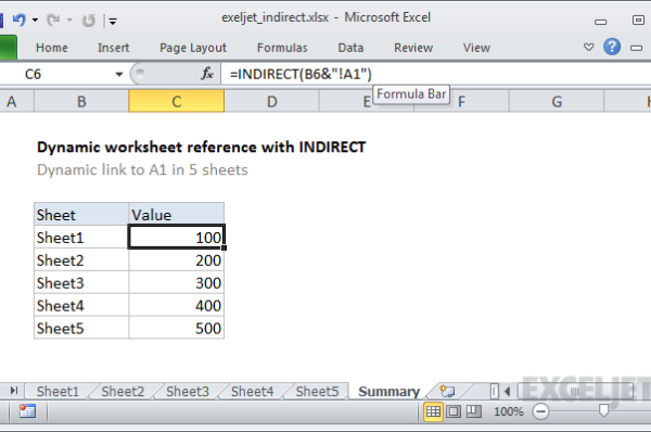 Excel Functions and Formulas - Referencing