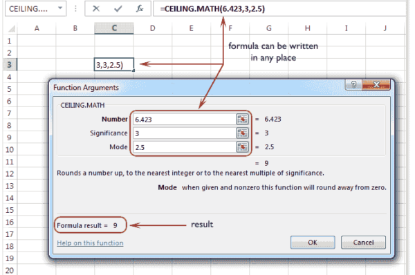 Excel Functions and Formulas – Mathematical Functions